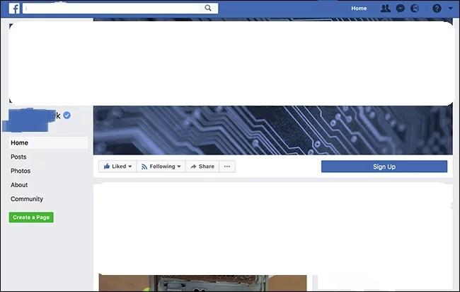 تأكيد حساب فيس بوك