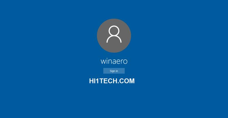 طريقة تغيير اسم المستخدم في ويندوز 10 و ويندوز 8 و ويندوز 7