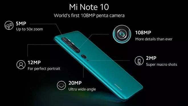 سعر و مواصفات Xiaomi Mi Note 10 - المميزات والعيوب