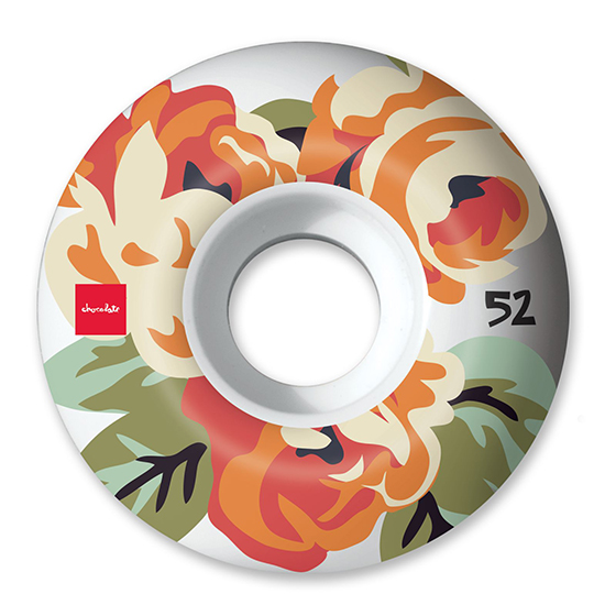 CHOCOLATE WHEEL FORAL 99D 52mm