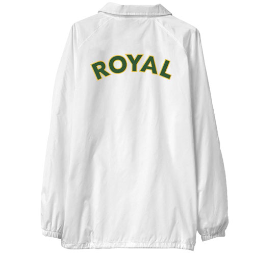 ROYAL SEATTLE COACHES JACKET ホワイト