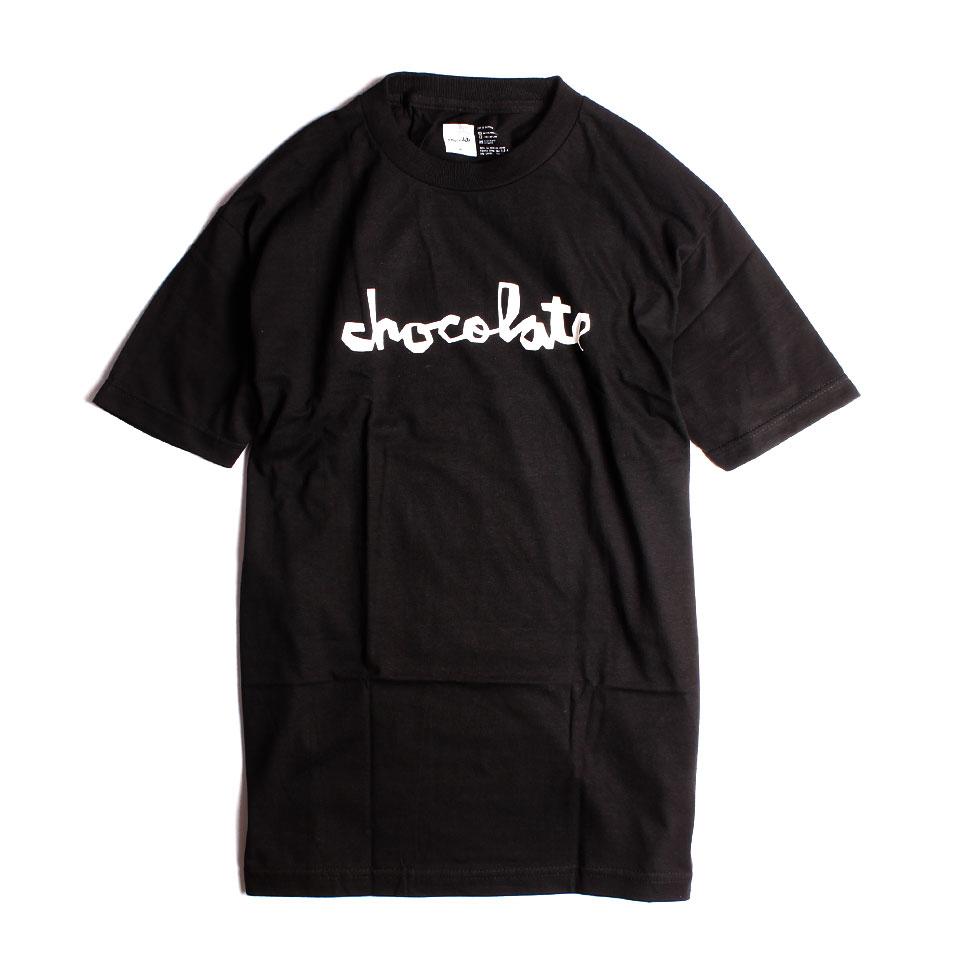 Chocolate ORIGINAL CHUNK Tシャツ ブラック