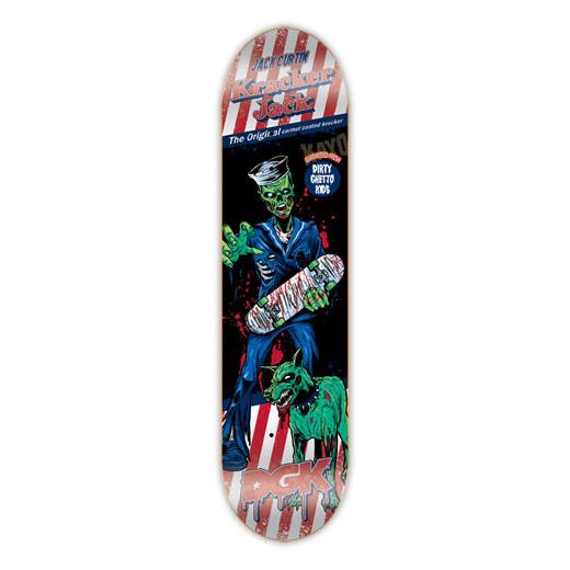 DGK スケボー スケートボード デッキ 通販 Skateboards Deck Jack Curtin AFTER DARK