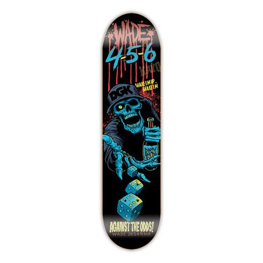 DGK スケボー スケートボード デッキ 通販 Skateboards Wade Desarmo AFTER DARK