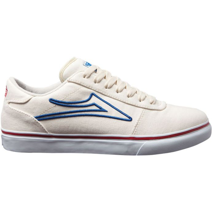 LAKAI FOOTWEAR MANCHESTER SELECT White/Royal Canvas 01