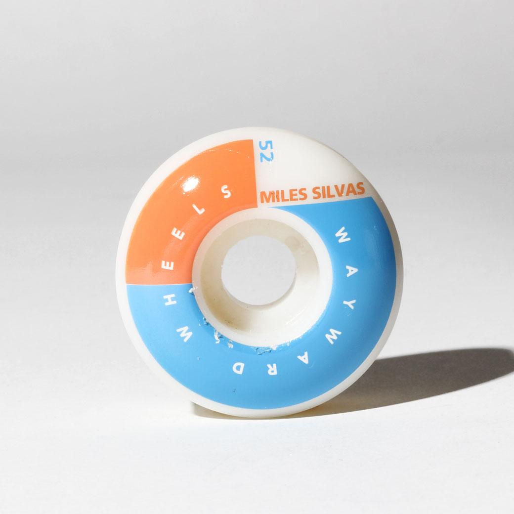 WAYWARD WHEELS ウェイワード ウィール スケボー 通販 CORNER CUT マイルス・シルヴァス 52mm