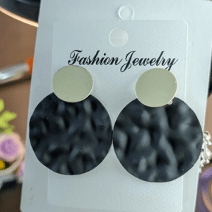 Black Earrings Design with Price in Pakistan 2021