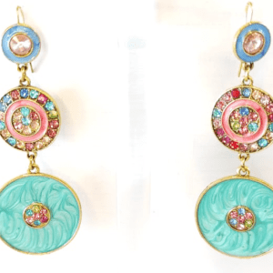 Multi Color Coins Earrings design with Price in Pakistan 2021