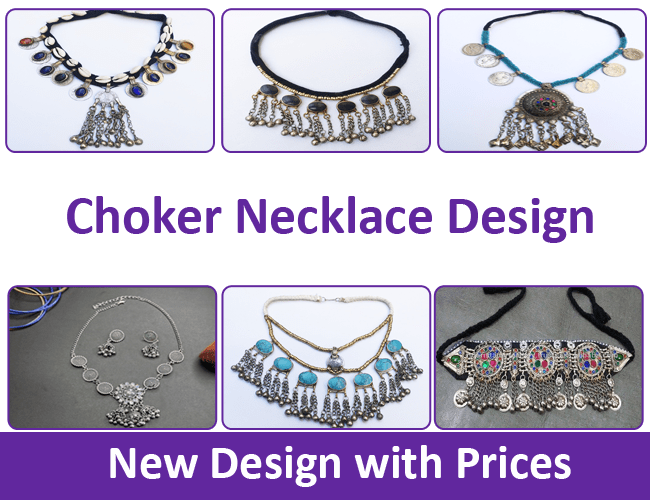 Choker Necklace Design with Price in Pakistan 2021
