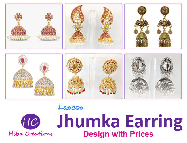 Latest Jhumka Earring Design with Price in Pakistan 2021