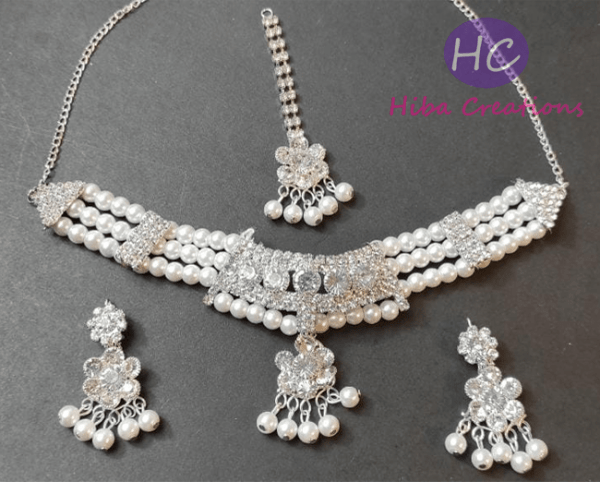 Choker Necklace Set Design with Price in Pakistan 2021