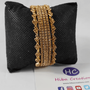 Fancy Golden Color Bangles Design with Price in Pakistan 2021