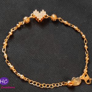 Heart Shape Bracelet design with Price in Pakistan 2021