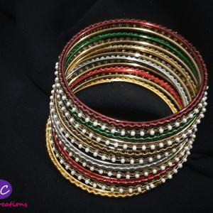 Fancy Multicolor Bangles Set Design with Price in Pakistan 2021 Online
