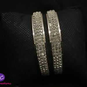 Beautiful Silver Bangles Set Price in Pakistan 2021