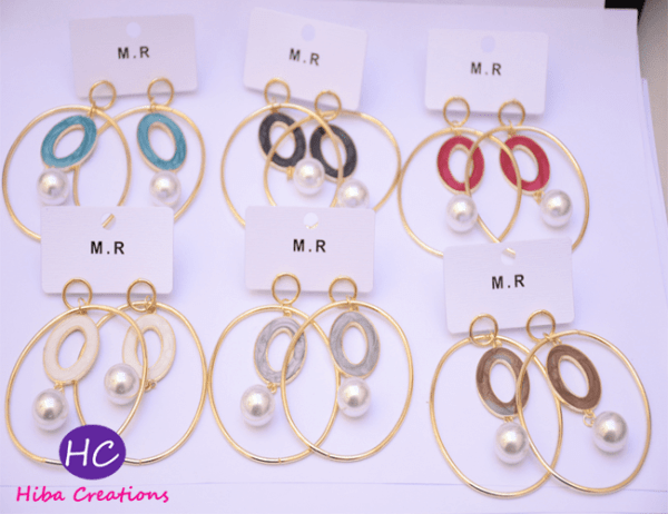 Dropping Earrings Design with Price in Pakistan Online 2021