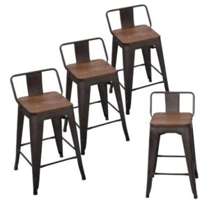 New 23 Best Bar Stools With Backs Reviews Guides 2020 Proven Tips