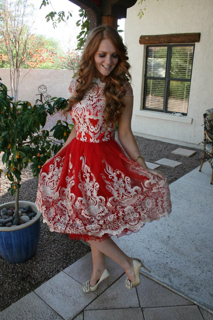 Bella HIbbs Thanksgiving Dress 1