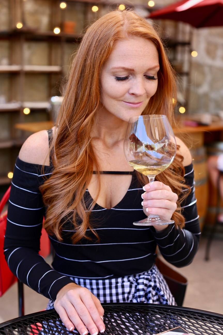 Fashion Blogger Wine Tasting, outfit inspo