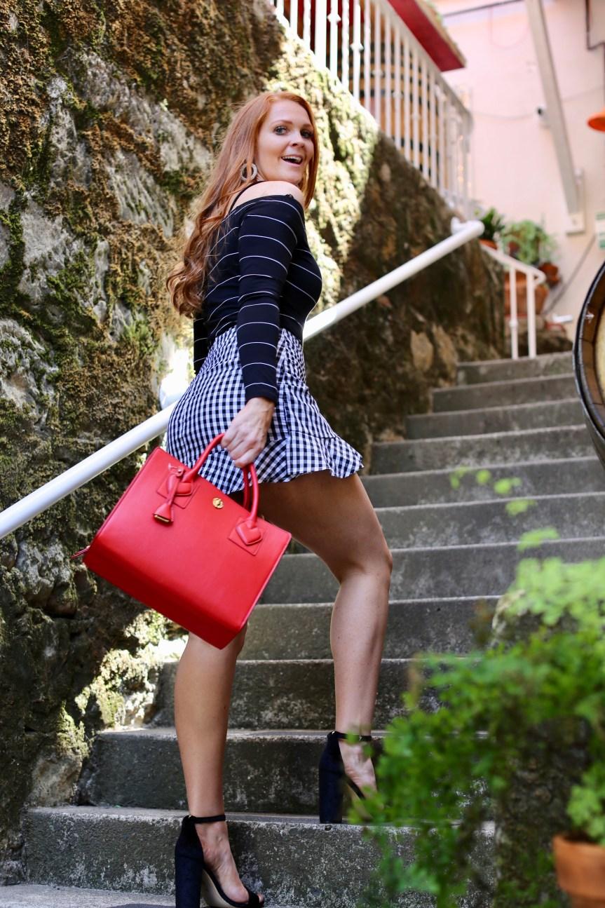 Testarossa wine tour fashion blogger wine outfit perfect for wine tours