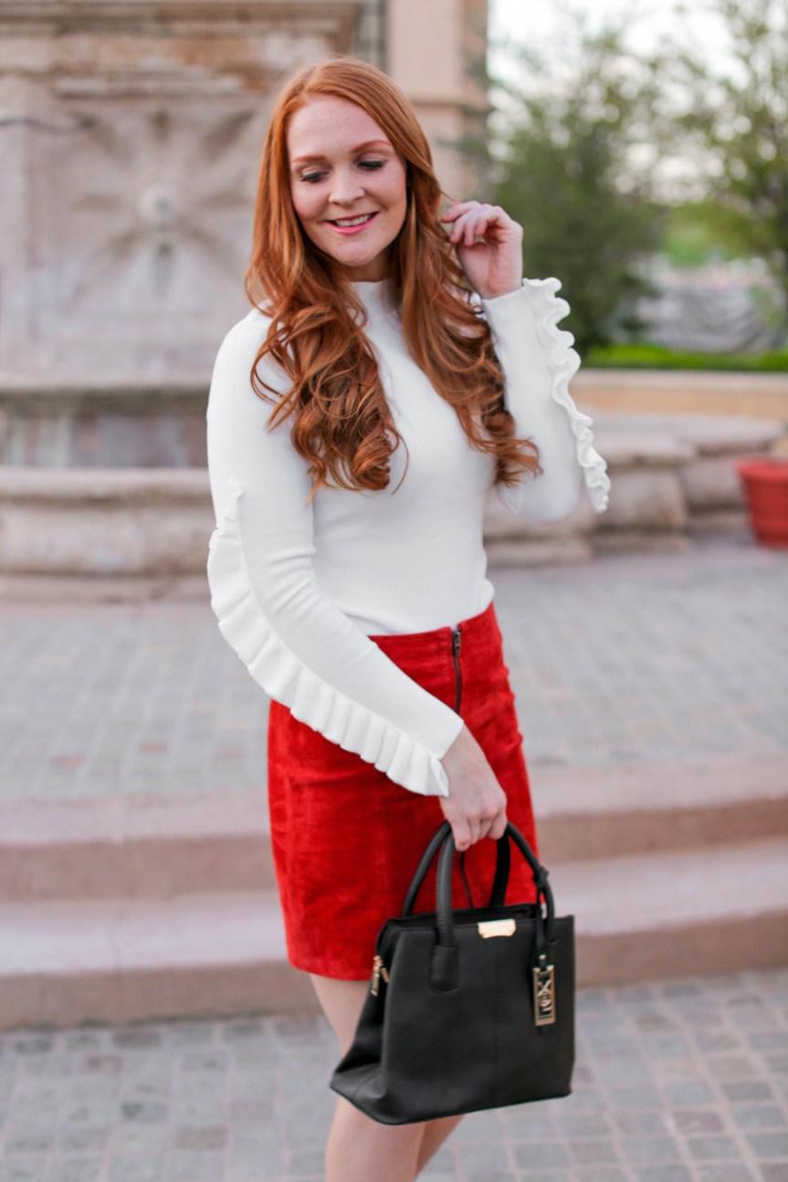 Fall Mini Skirt by Bella Hibbs of Hibbs Life and Style (9)