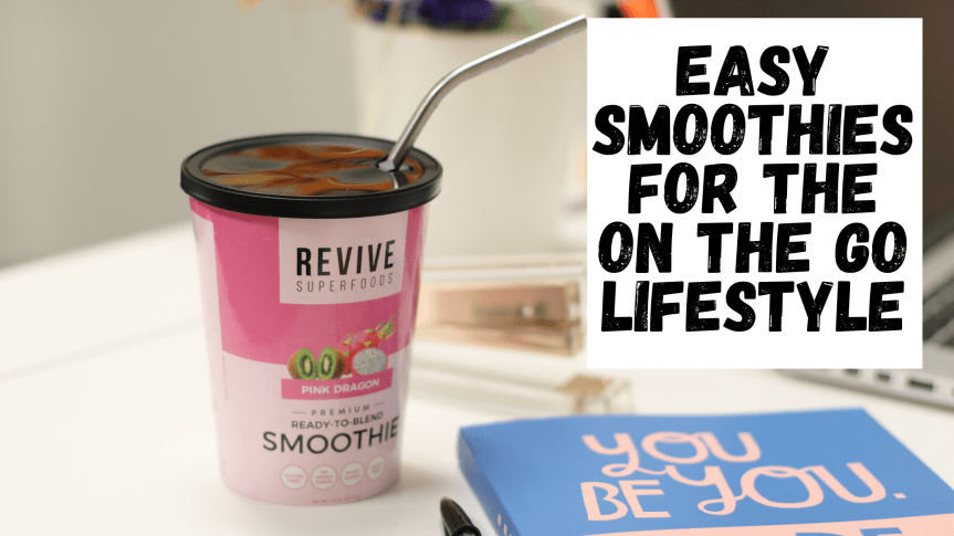 Easy & Healthy Smoothie For On The Go Lifestyles!