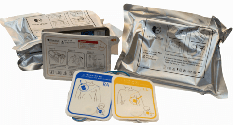 Heartplus Replacement Battery & Pad Pack