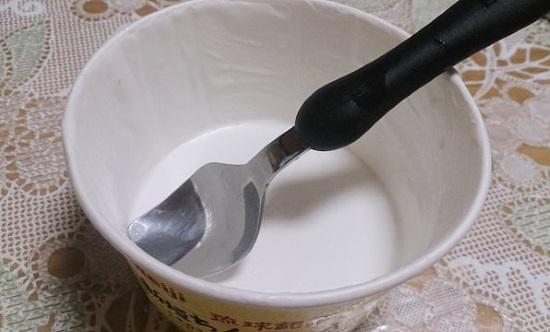 ちんすこうアイス完食