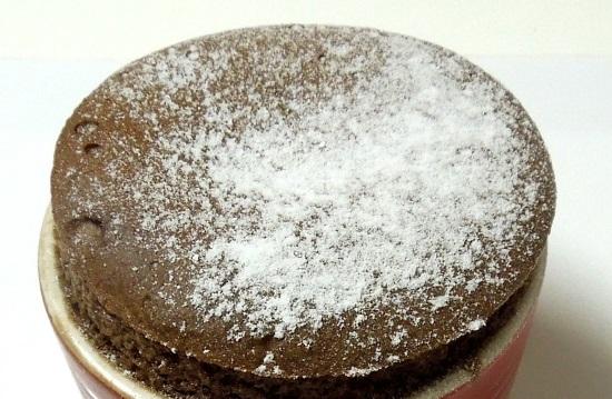 ガトーショコラ粉砂糖