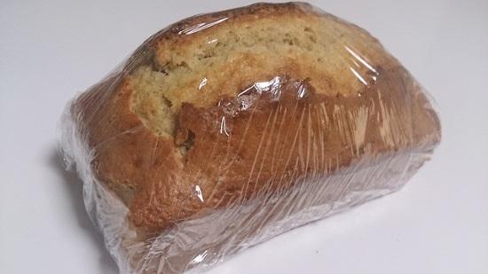手作りパウンドケーキ保存