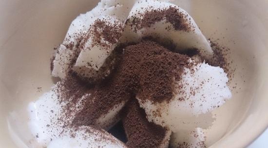 コーヒーアイスの作り方