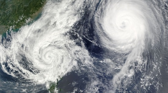 6月の沖縄台風