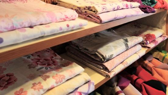 浴衣の選び方体型別