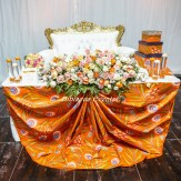 Hibiscus events, décoration mariage en wax