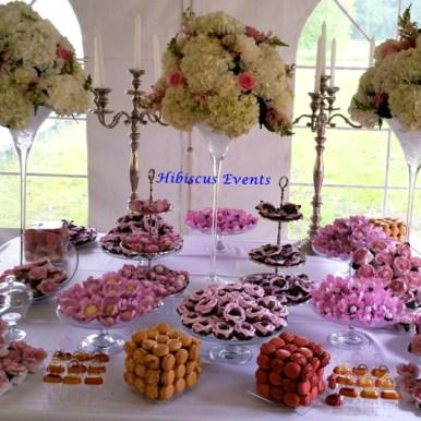 table des desserts reduite