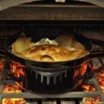 薪ストーブでつくる簡単なパンと季節の料理