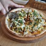 「薪ストーブでピザを焼いてみよう‼︎」ワークショップ