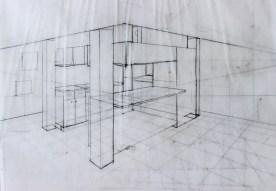 Loft kitchen sketch