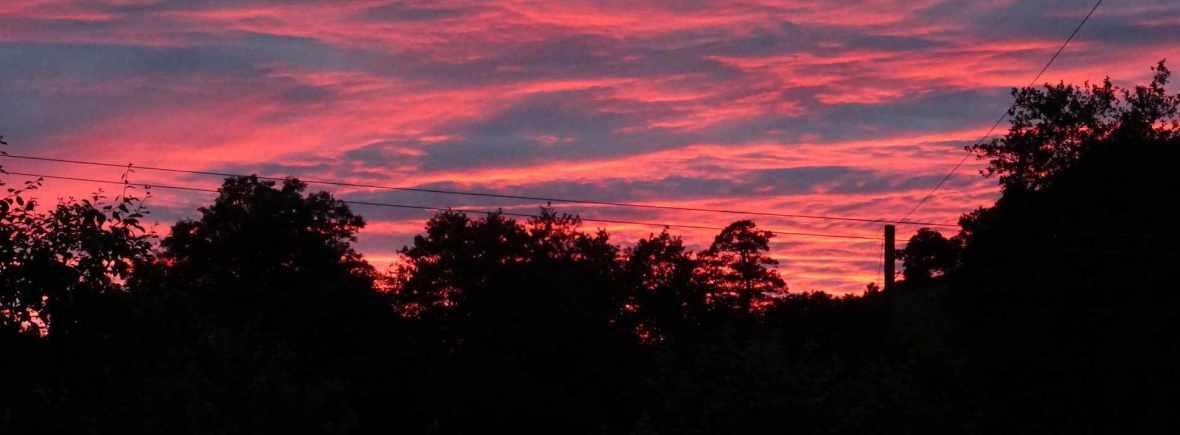 Sunset at Hicks Farm