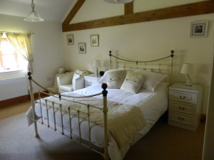 Double Bed in Orchard House