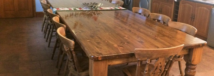 Orchard House Kitchen Table