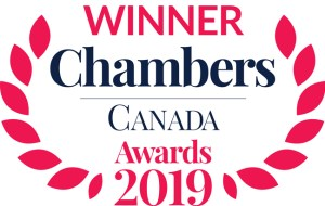 2019 Chambers Canada Winner Badge
