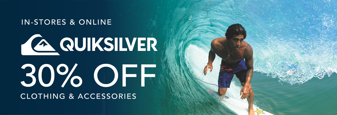 Take 30% Off Quiksilver