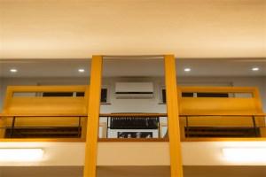 廿日市に建つ超高性能な暖かい注文住宅 ロフトエアコン