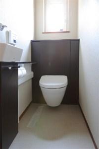 廿日市に建つ超高性能な暖かい注文住宅 トイレ