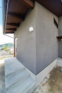 広島市安佐南区の注文住宅 高性能パッシブ設計 外観