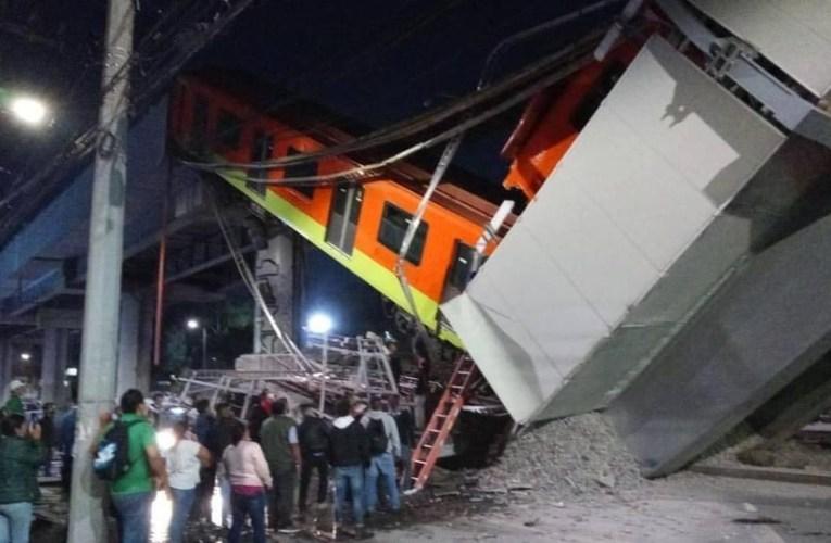 Desplome del Metro Olivos deja 23 muertos; Línea 12, cerrada