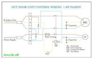 Daikin Outdoor Wiring | REFRIGERATION & AIR CONDITIONING