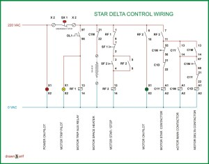 Star Delta Wiring Diagram | REFRIGERATION & AIR CONDITIONING