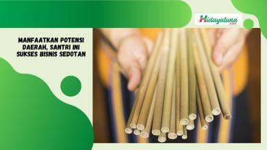 Photo of Santri ini Sukses Bisnis Sedotan Bambu